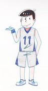 六つ子のバスケ/カラ松 六つ子描いてみた その11