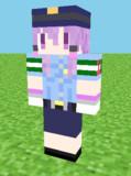 【Minecraft】婦警ゆかりスキン 見本
