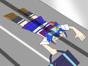 事故による平面化