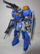 MG デュエルガンダムAS 正面 AS各種装備