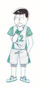 六つ子のバスケ/チョロ松 六つ子描いてみた その12
