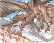 電撃顎のドラゴン