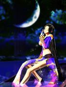 夜・新旧七武海(複数可)・月