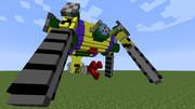 【minecraft】大型メカニロイドを作ってみた【jointblock】