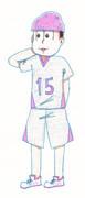 六つ子のバスケ/トド松 六つ子描いてみた その15