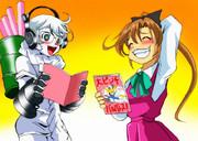 秋雲さんと集積地棲姫さん