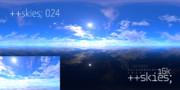++skies; 024 [16k8k/8k4kスカイドーム素材配布]