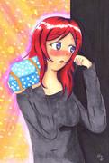 【まる週間】まきちゃんがバレンタインチョコをくれるようです