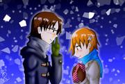 WO!!:バレンタインデーに小鳥遊君にチョコ渡す伊波さん