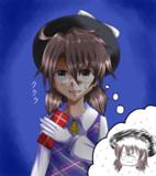 菫子会長はチョコ渡すのすげー下手クソだったら可愛いと思う