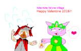 こてこてアイルー村のバレンタイン