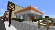 【Minecraft】郵便局 【地方空港とまち】