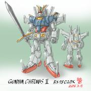 「ガンダム・キリマス2」RX-78F-2DX