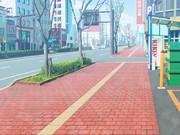 背景素材「街」