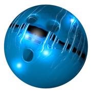 青い洞窟のボウリングボール