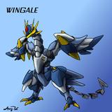ウインゲイル飛行形態