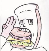 食事中パンマン