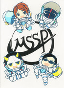 We are MSSP!【切り絵】