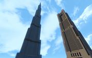【Minecraft】ブルジュ・ハリファとランドマークタワー