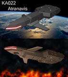 【戦艦】KA022 Atranavis / アトラナビス  【MMD兵器】