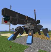 コンテスト作品No.1「多脚歩兵戦車 IT-02'c」【JointBlock】