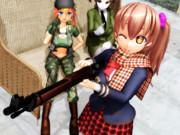 女子高生と狙撃銃