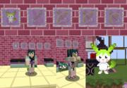 【Minecraft】ずんだアローリメイク【ゆかりテクスチャ付属パーツパック/ずん子テクスチャ】