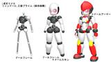 【MMD】L式オリメカ 人形 その4【制作中】