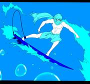 水遁サーフィン