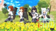 【艦これ】第六駆逐隊カレンダー3月