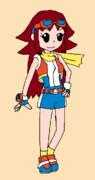 ポケモンレンジャー光の軌跡の女主人公……?