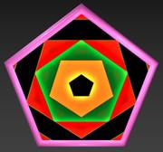 五角形コースター41