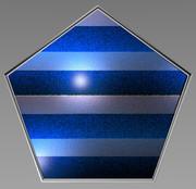 五角形コースター42
