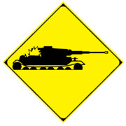 地面めり込みによる故障注意(架空標識)