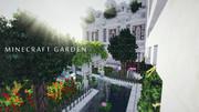 【minecraft】庭園にて【マイクラガーデニング】