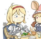 「お、美味しいから最後に食べるんだ!」