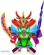 プリムのSDガンダム水神左戦士