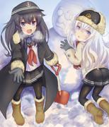冬の特別除雪任務