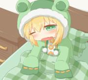 寝起きスフレちゃん