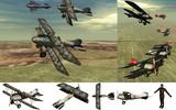MMD用モブ戦闘機・パイロット1918セット