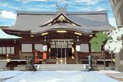 誕生日のお参り(熊野神社)