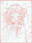 【切り絵】合田美桜