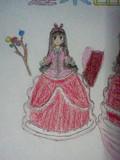 ドレス姿の輝夜姫