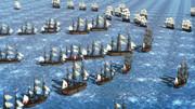 MMD トラファルガー沖海戦 のような風景