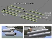 """米海軍海兵隊5""""ズーニーロケット弾モデル要りますか?"""