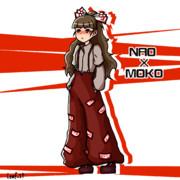 奈緒の妹紅コス