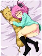 おやすみスフレ (GIF差分)