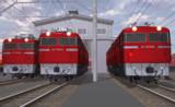 【モデル更新】ED76型っぽい電気機関車
