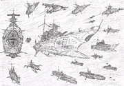 アメリカ第3艦隊 旗艦アイオワ