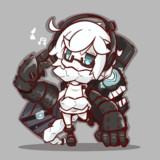 集積地棲姫ちゃん。